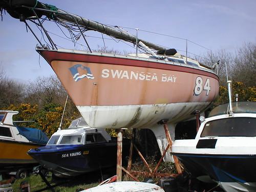 Swansea Bay Chris Butler's Boat taken in 2009
