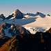 Mount Olympus and Blue Glacier -- Olympic National Park at Sunrise