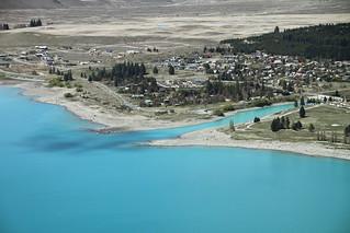 Lake Tekapo from Mt. John