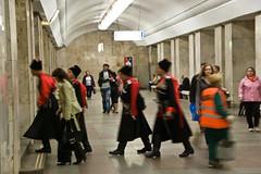 Costumes dans le métro