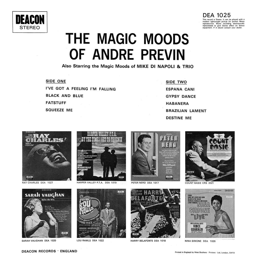 Andre Previn - Featuring the Magic Moods of Andre Previn