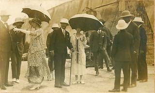 'King & Queen of Belgium at Batgar Dam'