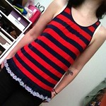 Ralph Lauren kids striped ruffle top from tag sale in Wantagh
