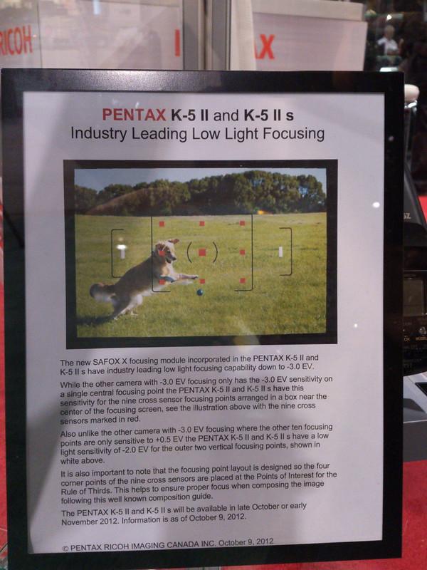 Pentax X5 K5II/K5IIs
