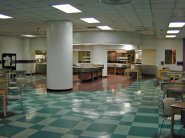 1962 ... cafeteria for doomsday!