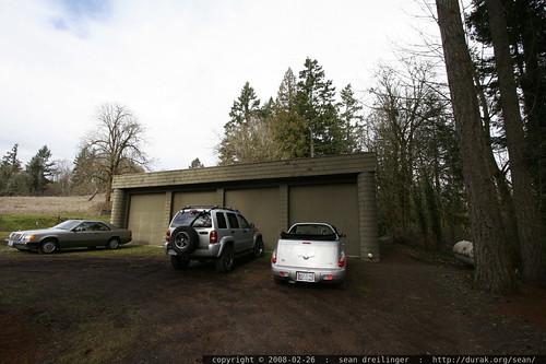 8 car garage    MG 9912