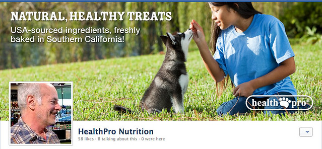 Facebook Page Header: Healthpro Nutrition