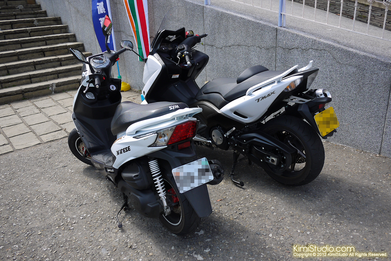 2012.10.16 T-Max 530 New Fighter ZR-006