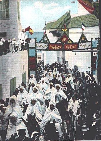 La visite de guillaume II à Tanger