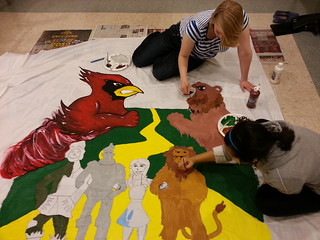 Banner Painting Cyclone Life