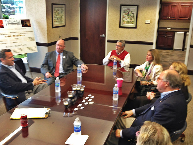 I also got an economic development briefing from the Thomasville Area Chamber of Commerce.