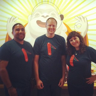 Thanks for awesome shirts, @codeschool! We are excited to be working with you guys!