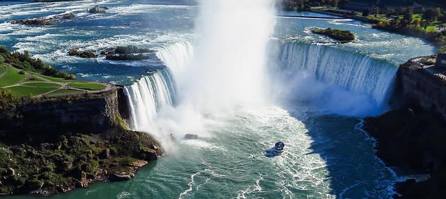 Kite Over Niagara Falls Canada