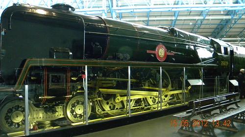 SR 'Ellerman Lines' 4-6-2 Merchant Navy Class sectioned steam locomotive, No 35029