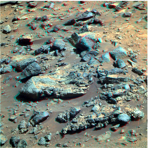 OPPORTUNITY sol 3101 Pancam anaglyph