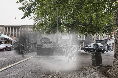 Tanks versus taxis - Great War Ghost.