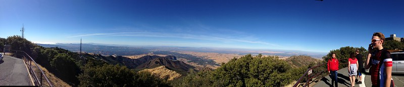 View from Mt.Diablo summit