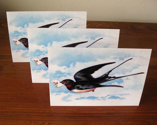 Letterbird notecard set