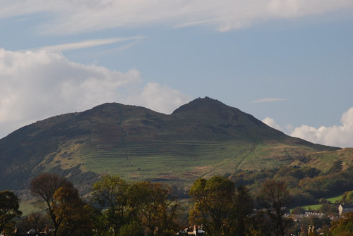 Arthur's Seat from the other side