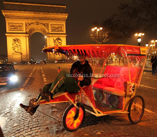 paris trishaw