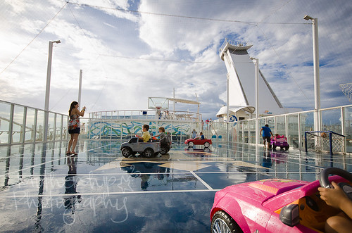 Commuter chaos on the Allure of the Seas