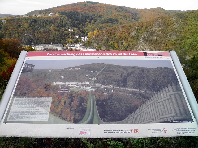 The surveillance of the Limes in the Lahn-Valley near Bad Ems