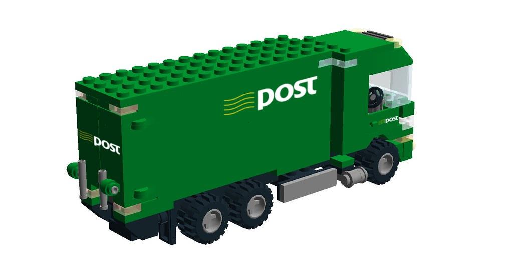 Irish Post Truck