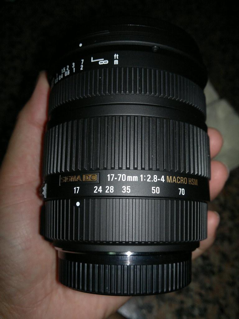 Sigma 17-70 F2.8~4 DC HSM 開箱