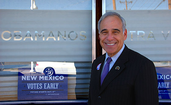 Congressman Charlie Gonzalez, Chairman of the Congressional Hispanic Caucus