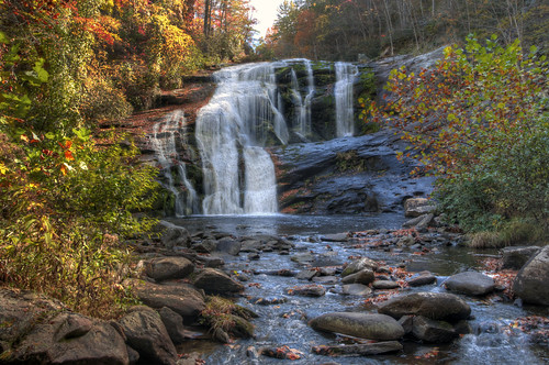 road chris autumn 3 color fall water leaves forest river photography photo waterfall leaf high nikon october soft exposure kaskel tn dynamic d tennessee bald harvest picture pic falls national pro cherokee 5000 plains range plain hdr tellico skyway exp matix cherohala photomatix d5000