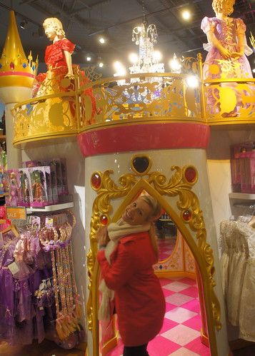 Disney Princess @ the Disney Store