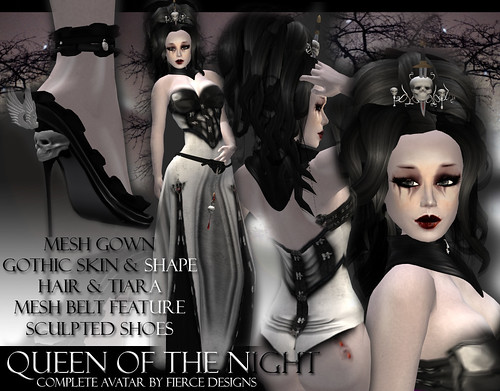 Queen of the night (snow) by Fierce Designs