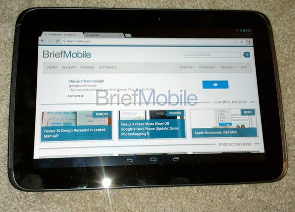 характеристики Google Nexus 10