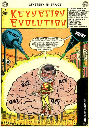 KEYNESIAN EVOLUTION by Colonel Flick