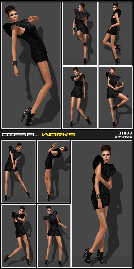 Diesel Works - Miaa [Editorial Poses]