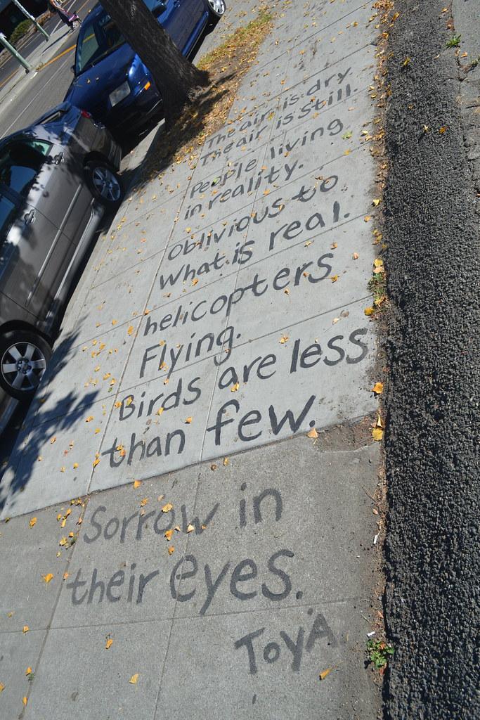 TOYA, POEM, Street Art, Oakland