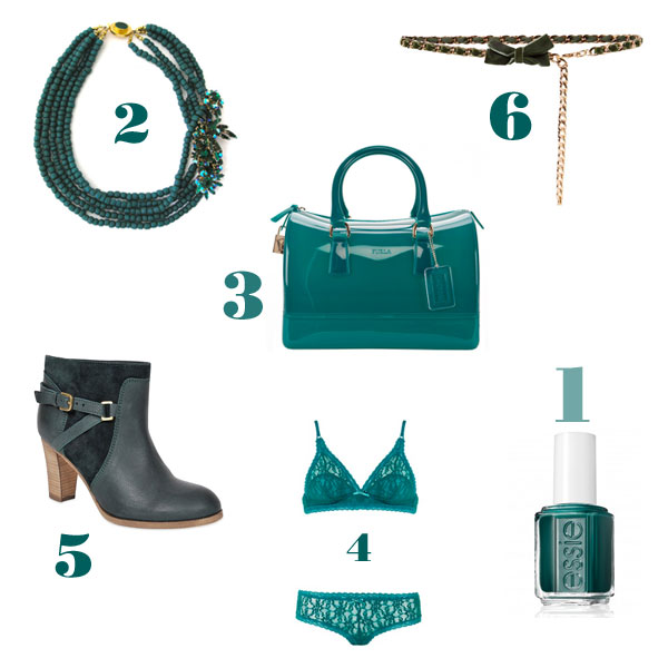 Simply girly: go green!