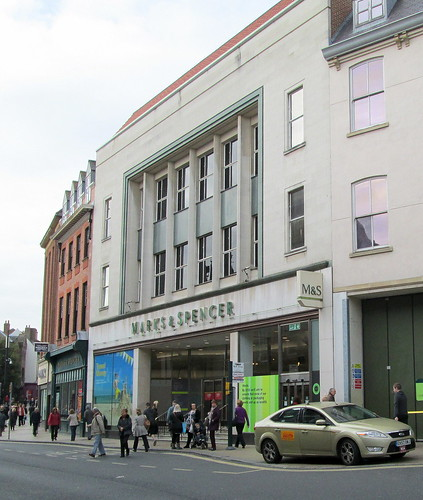 Marks & Spencer, York, from The Pavement