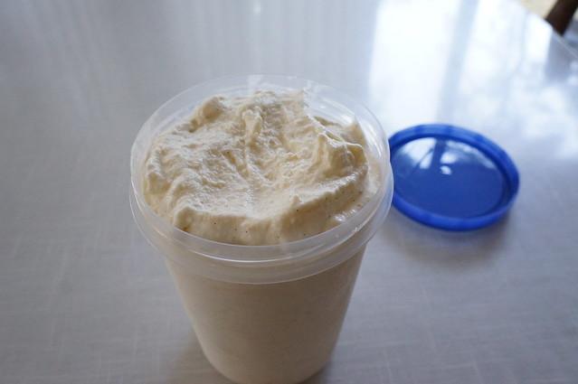 Homemade Lychee Ice Cream
