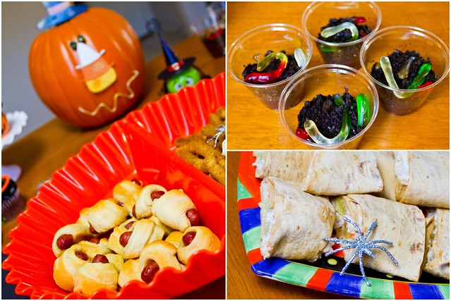 #MealsTogether Halloween Party Food Collage