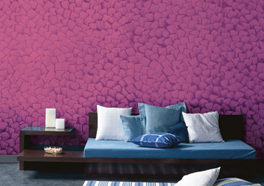 Wall painting how not to spend a fortune on texture for Asian paints textured wall decoration