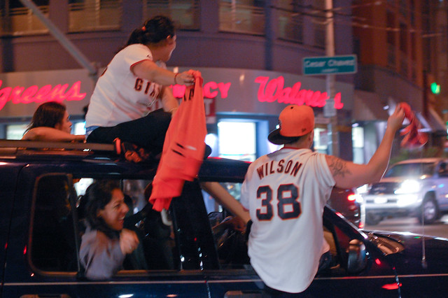 Giants World Series Celebration