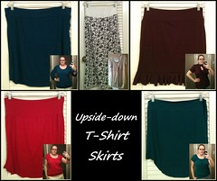 Tshirt skirts