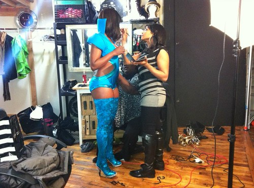 Miss Ksyn 2012 Soca Gold Photoshoot video and pictures