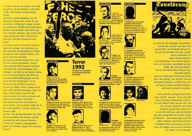 asylrechtsänderung 1992, Weihnachtsbrief vor 20 Jahren