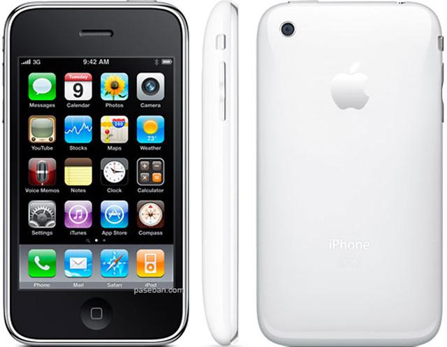 iPhone 3GS 実物大の製品画像