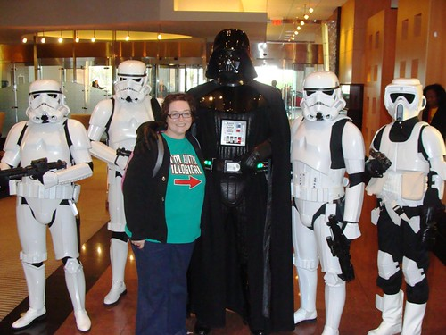 Me, Darth Vader & his Stormtroopers