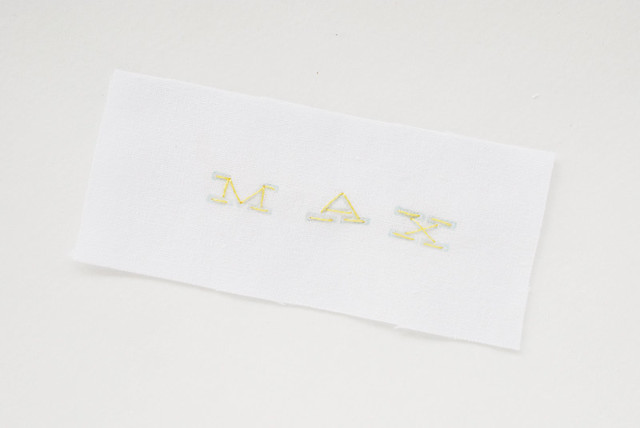 Stamping Embroidery