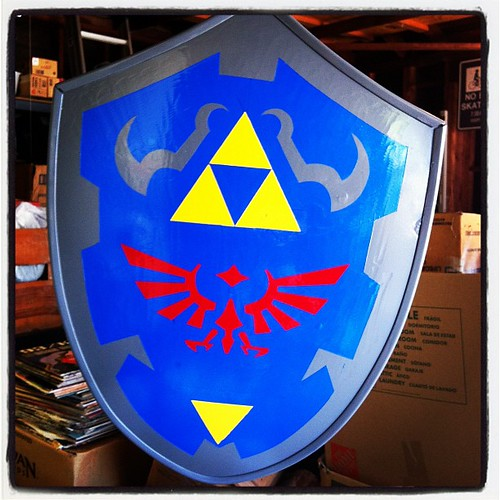 Hylian shield is finally done!!