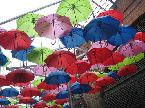 Umbrellas Near Borough Market